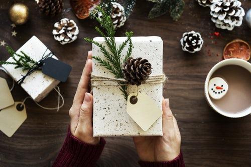 Parabole du cadeau de Noël